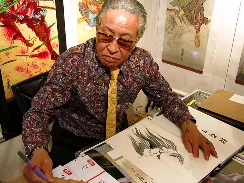 ตำนานนักสักประเทศญี่ปุ่น